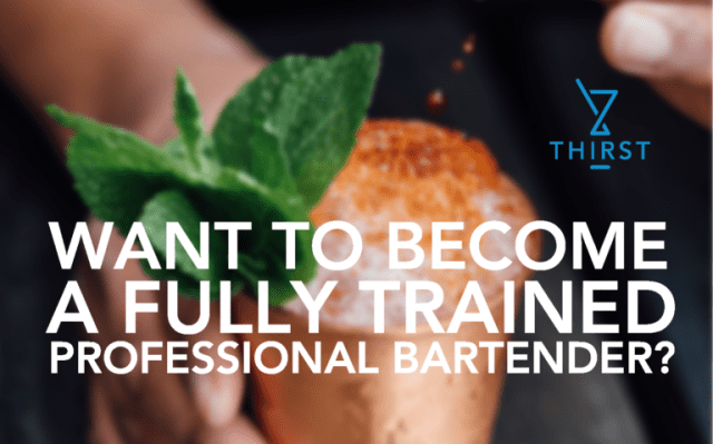 BECOME A FULLY TRAINED PROFESSIONAL BARMAN