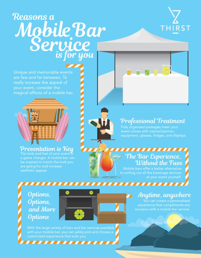REASONS A MOBILE BAR SERVICE WILL MAKE YOUR EVENT UNFORGETTABLE